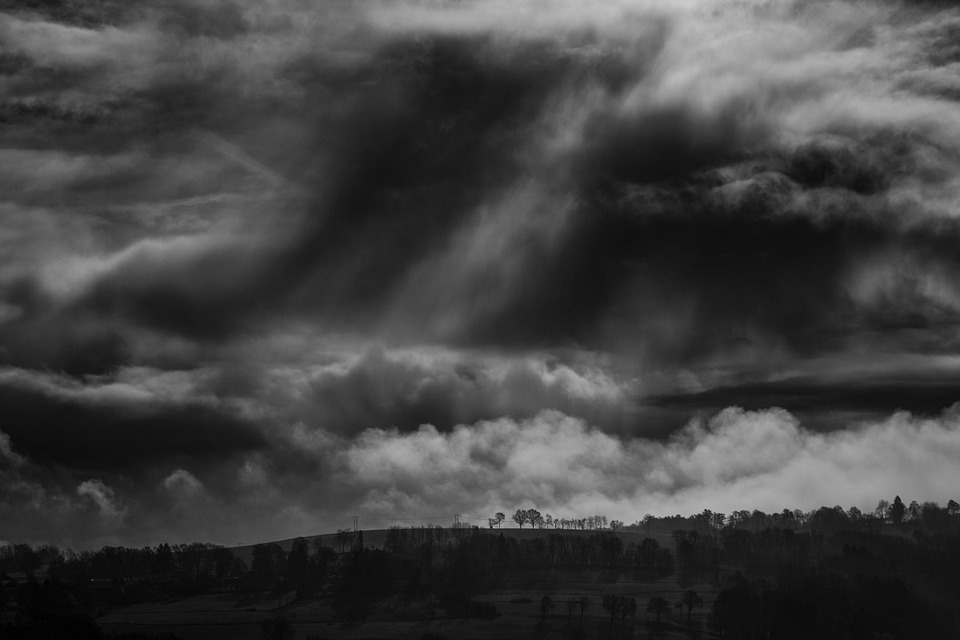 Cloud, Contrast, Dark, Dramatic, Dusk, Evening