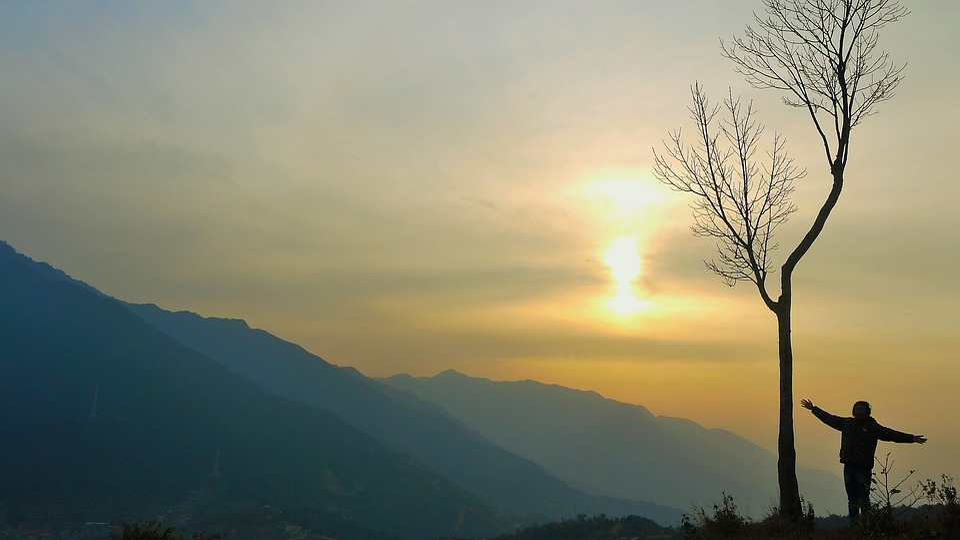 Landscape, Sunset, Nature, Evening