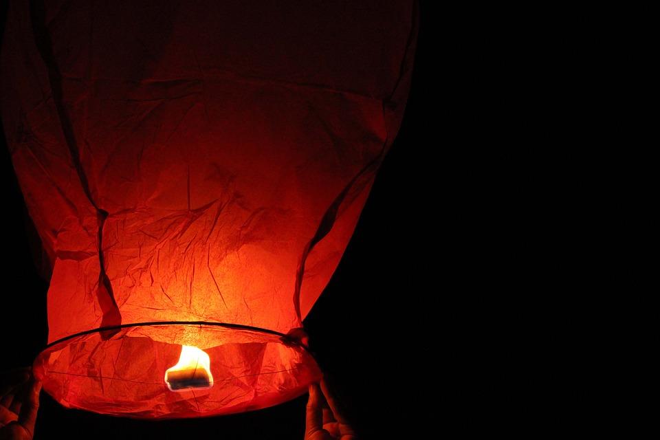 Lamp, Night, Lights, Dark, Candle, Nature, Sky, Evening