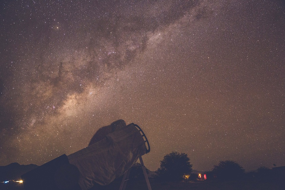 Stars, Galaxy, Space, Sky, Night, Evening