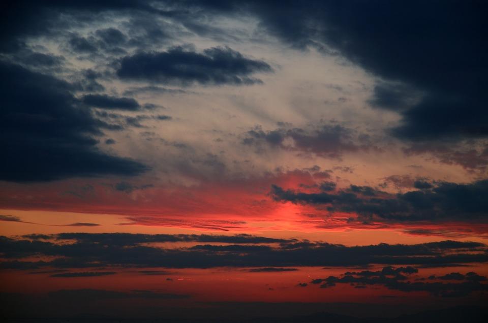Sunset, Dusk, Dawn, Twilight, Evening, Nightfall