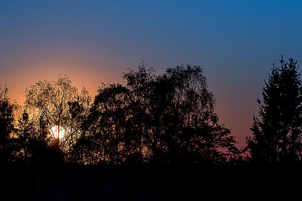 Sunset, Dusk, Abendstimmung, Evening Sky, Golden Light