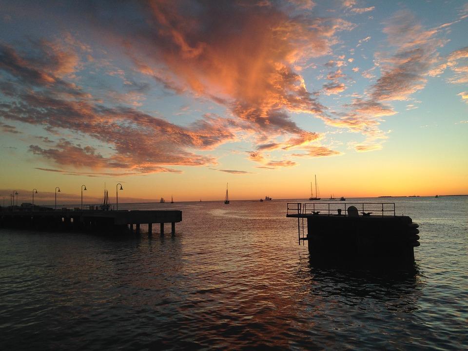 Sunset, Key West, Florida, Sky, Dusk, Evening Sky
