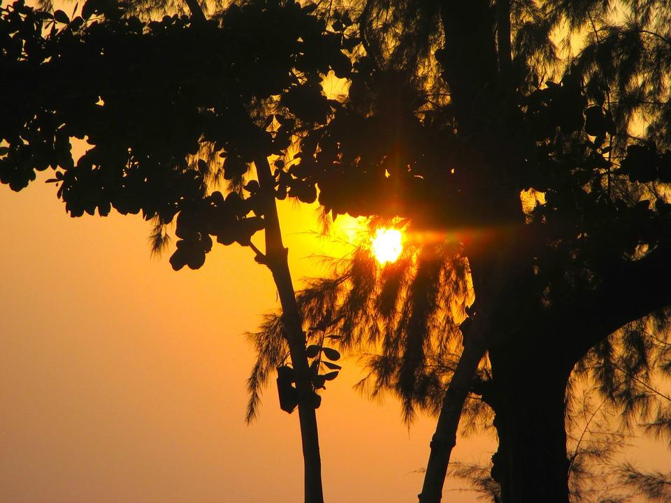 Sunset, Evening Sky, Thailand