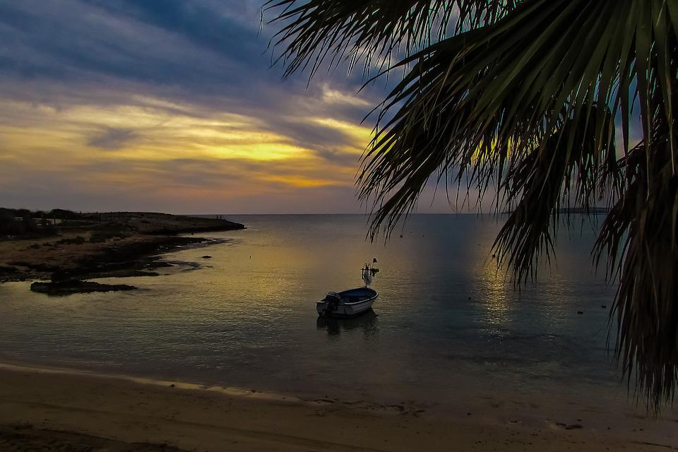 Sunset, Beach, Sky, Horizon, Clouds, Evening, Dusk