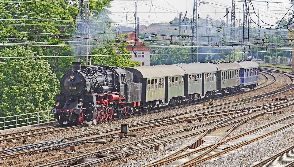 Museum Train, Steam Locomotive, Plan Steam, Event