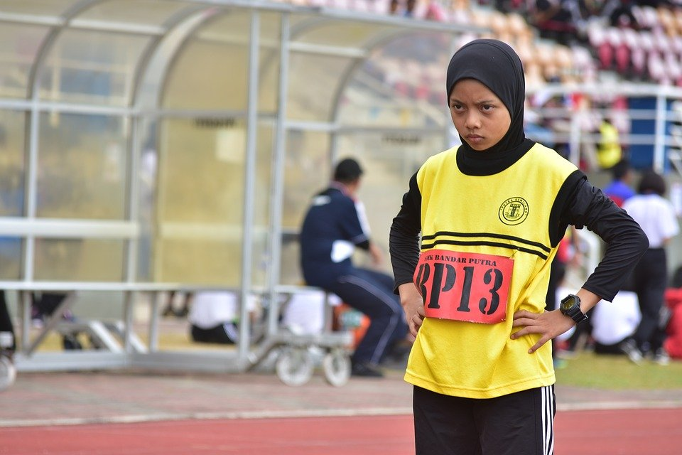 Sports, Event, Athlete, Runner, School, Stadium