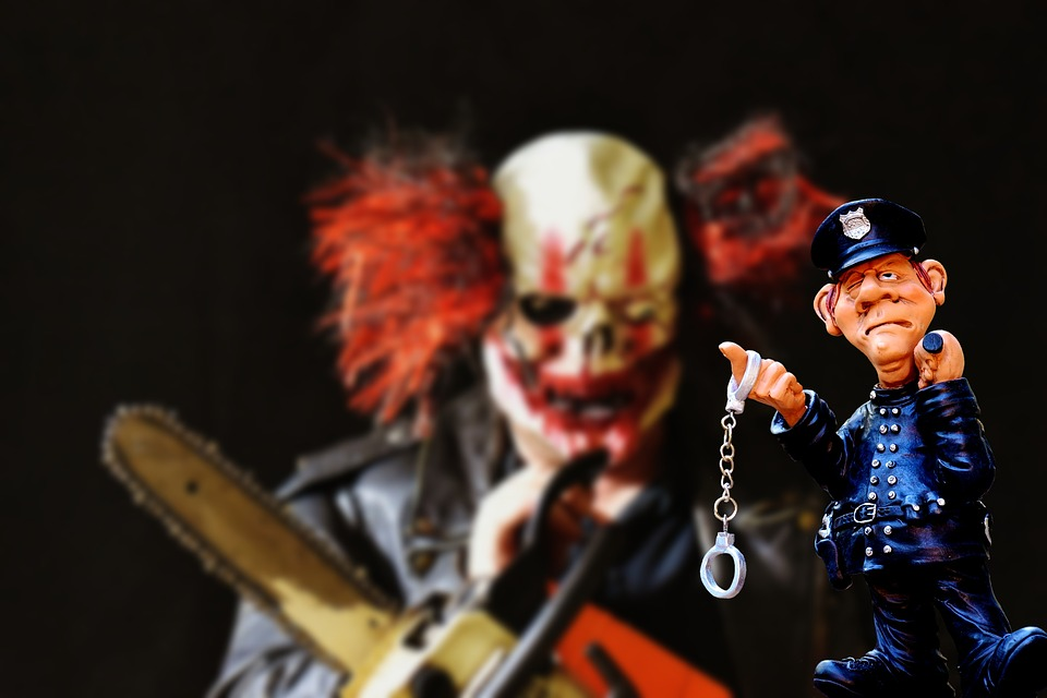 Trend, Usa, Evil Clowns, Terrible, Offender
