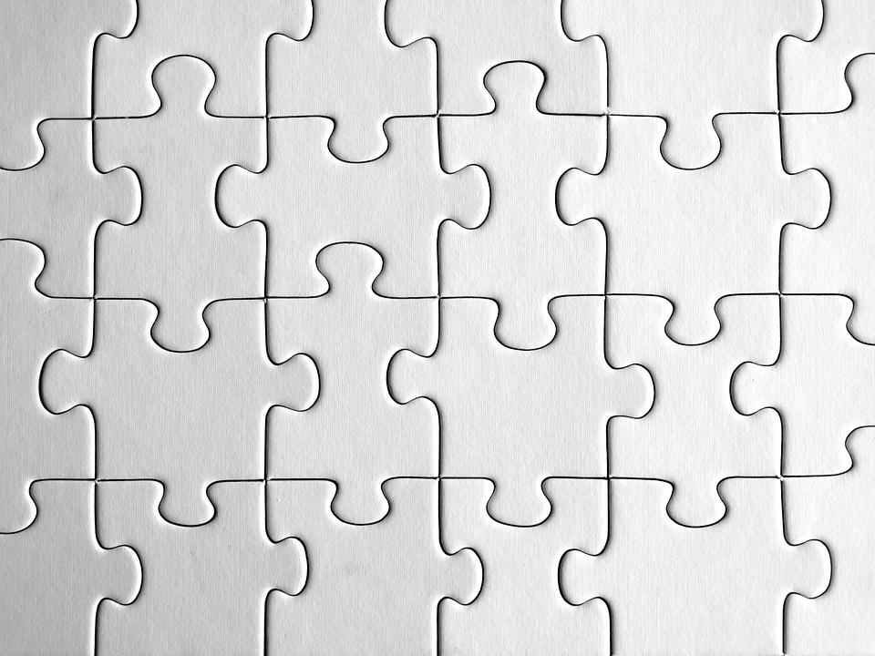 Puzzle, Demarcation, Exact Fit, Together