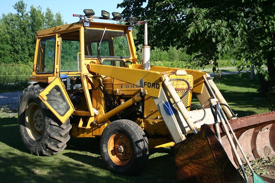 Backhoe, Rear Actor, Excavating, Equipment
