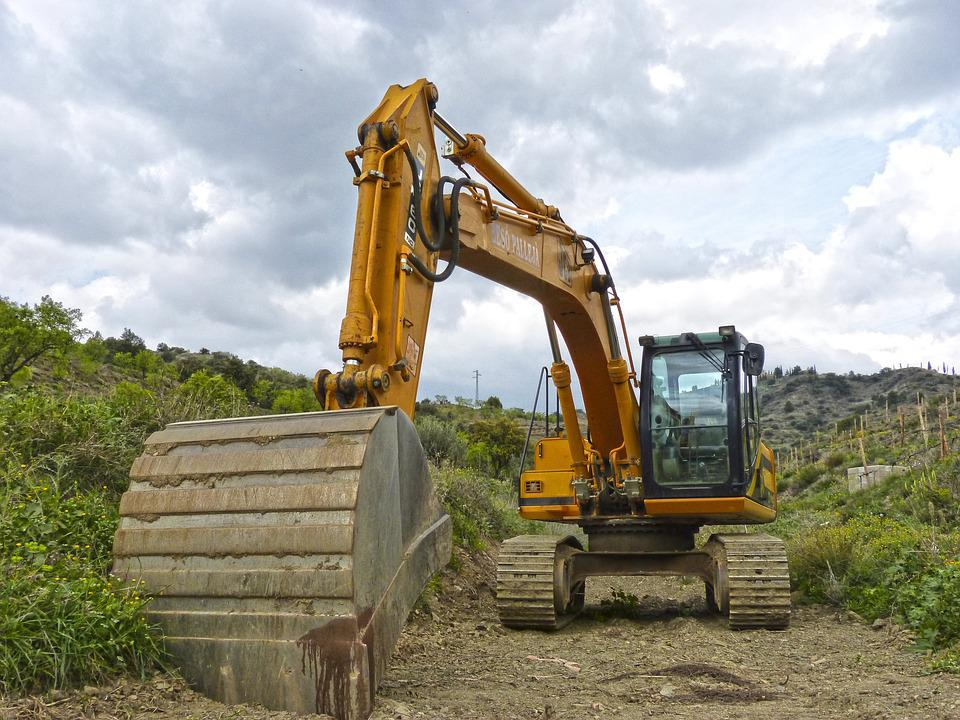 Excavator, Caterpillar, Shovel, Excavation, Machinery
