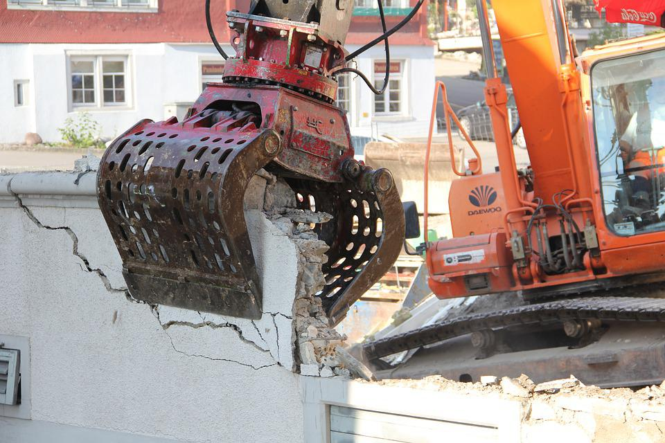 Site, Excavators, Construction Machine