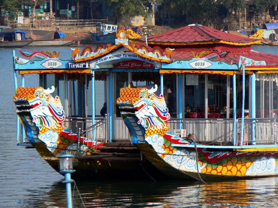 Viet Nam, Booed, Pearl River, Ship, Excursion, Cruise