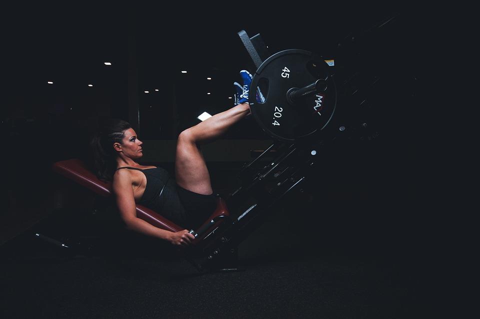 Adult, Gym, Athlete, Dark, Energy, Exercise