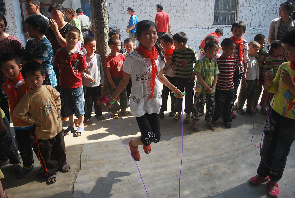 Jump, Rope, Jumping, Play, Exercise, Girl