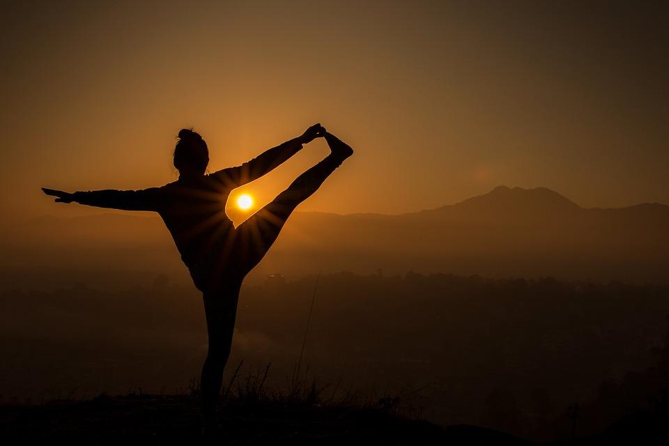 Yoga, Sunrise, Travel, Exercise, Meditation, Healthy