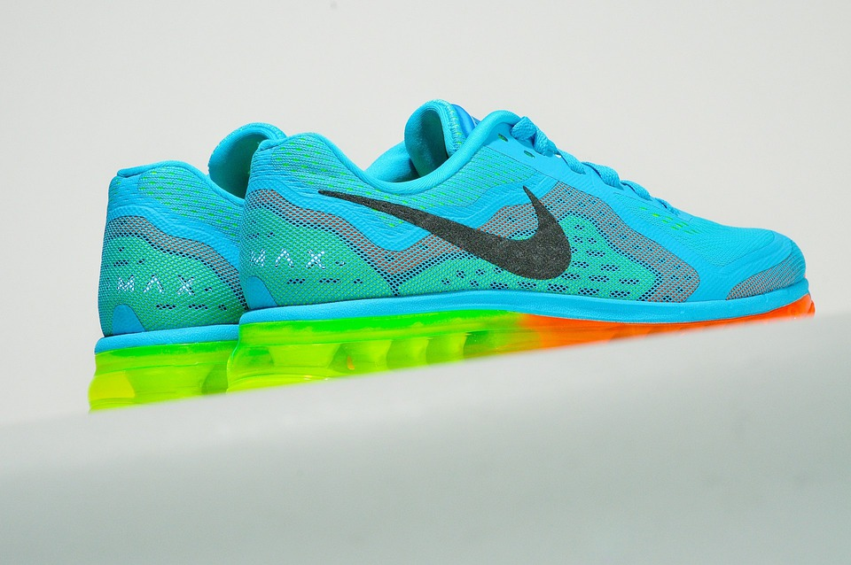 Free photo Exercise Sneakers Shoes Nike Running Colorful