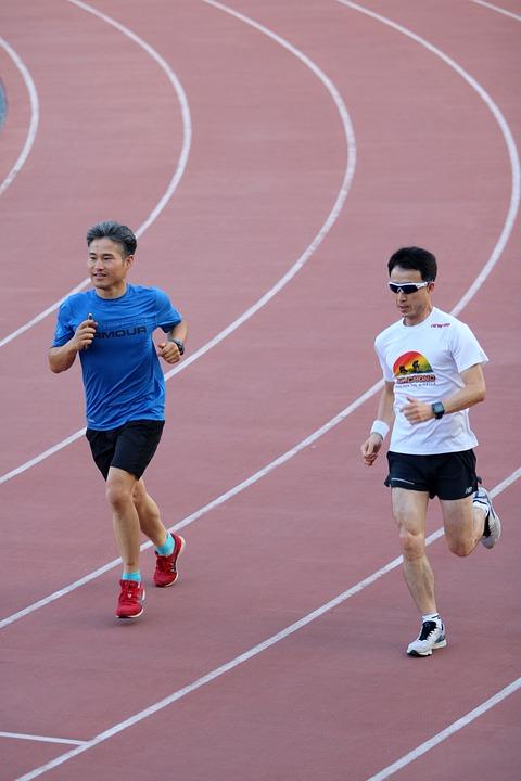 Running, Jogging, Exercise, Athletics, Track, Training