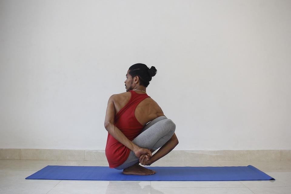 Yoga, Yogi, Male, Exercise, Health, Sport, Fitness