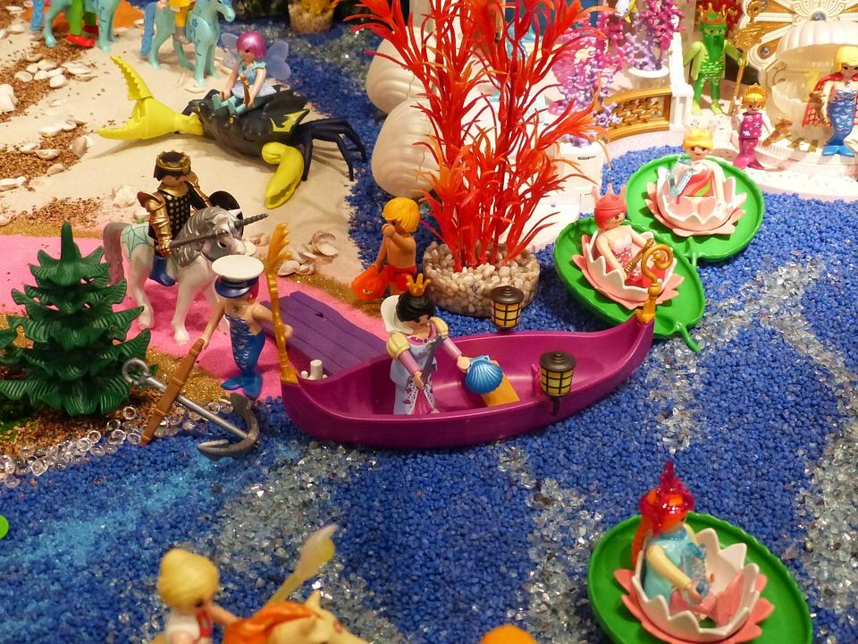 Playmobil, Exhibition, Toys, Figures