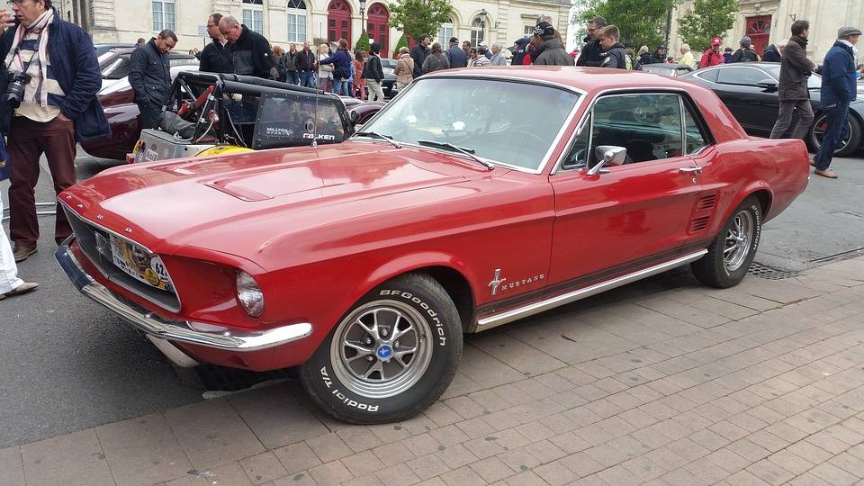 Ford, Mustang, Laon, Car, Exhibition