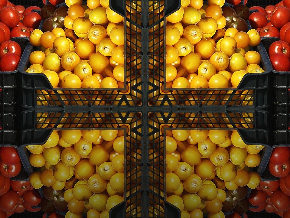 Fruit, Tomatoes, Lemon, Fair, Exhibition, Mature, Food