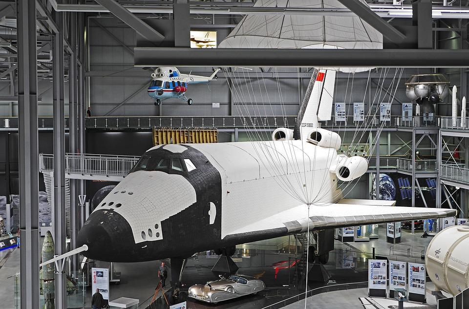 Space Shuttle, Columbia, Exhibition