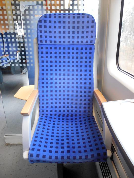 Train, Travel, Seat, Exit, Locomotion, Railway, Mobile