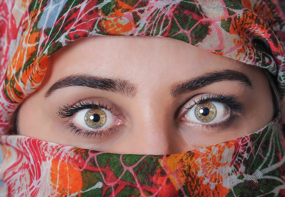 Woman, Headscarf, Exotic, Beautiful, Scarf, Traditional