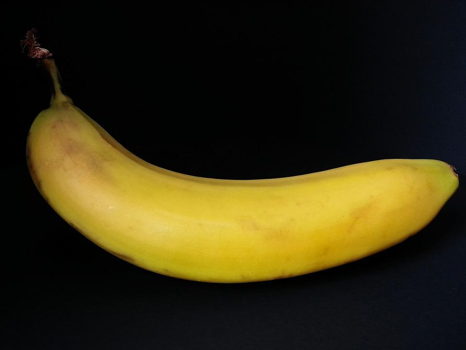 Banana, Fruit, Fruits, Vegetarian, Exotic, Yellow, Food