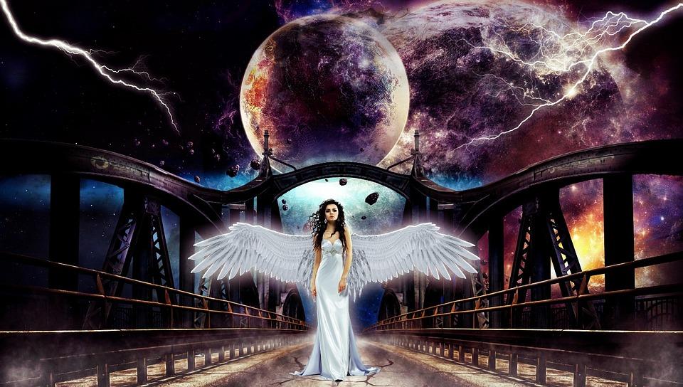 Darkness, Light, Art, Experimental, Armageddon, Angel