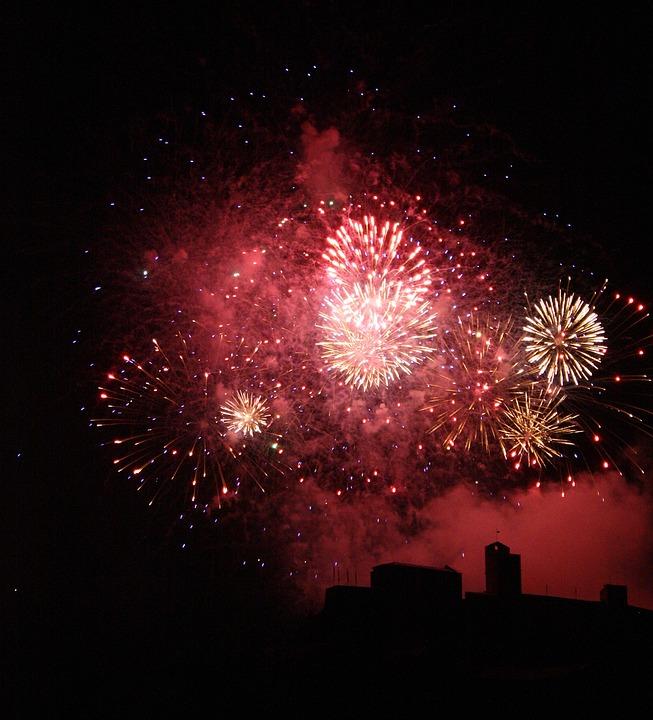 Fireworks, Explosion, Festival