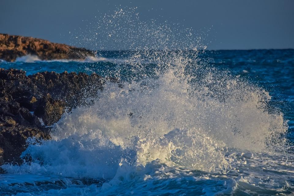 Water, Nature, Sea, Spray, Wave, Splash, Explosion