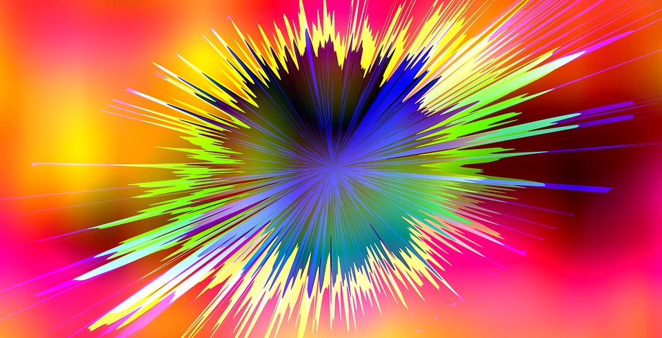 Spot, Explosion, Star, Experiment, Structure, Texture