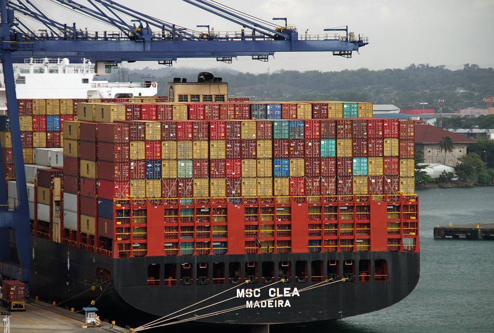 Containers, Cargo, Export, Import, Freight, Shipping