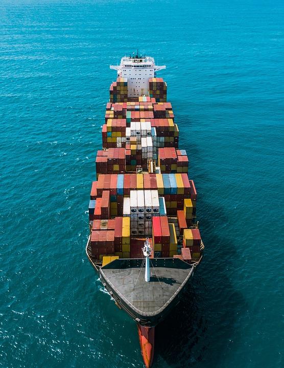 Ship, Container, Port, Cargo, Export, Trade, Shipping