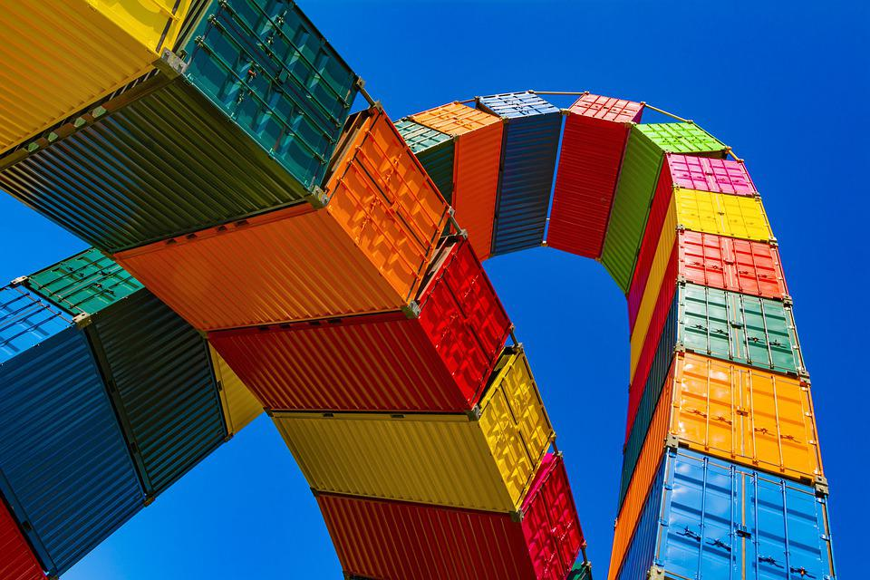 Container, Haulage, Freight, Export, Trade, Shipment