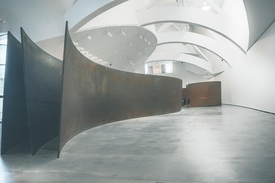 Museum, Expose, Gallery, Art, Light, Bilbao