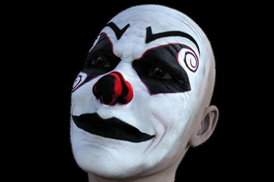 Clown, Sad, Spooky, Expression, Face, Halloween