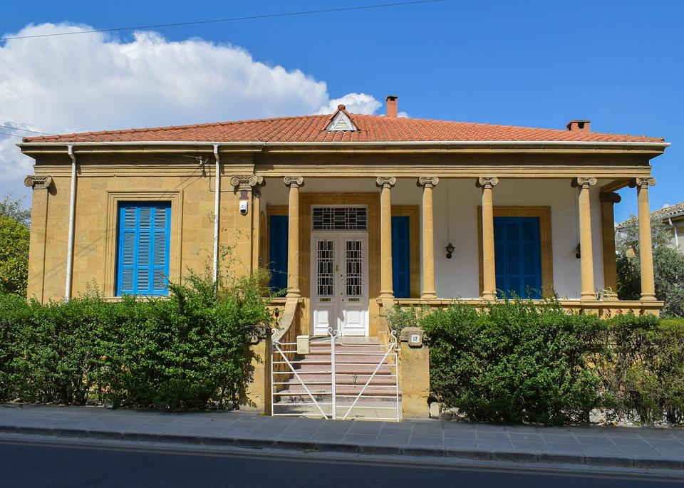 House, Home, Architecture, Neoclassic, Facade, Exterior
