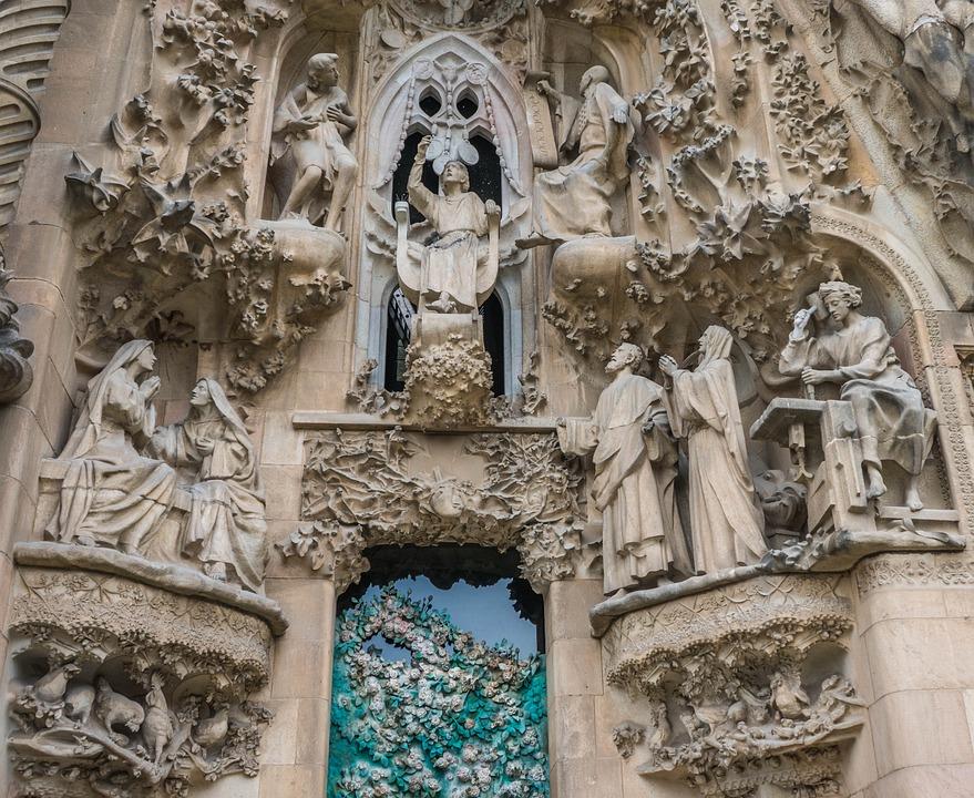 Sagrada Familia, Cathedral, Exterior, Barcelona