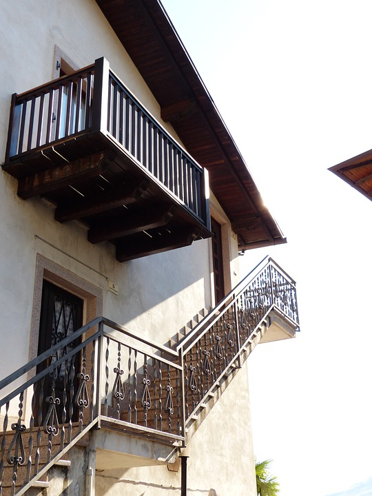 Stairs, External Staircase, Gradually, Architecture