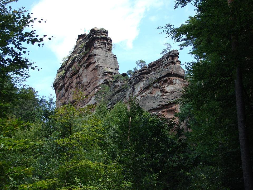 Asselstein, Rock, Climbing, Vertical, Extreme