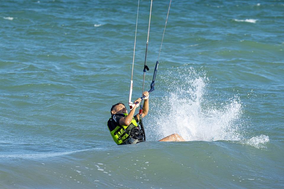 Kite, Surf, Extreme, Sea, Kitesurfing, Sport, Surfing