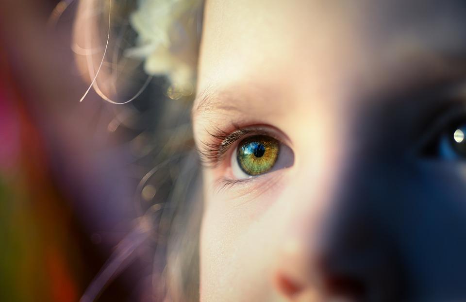 Girl, Dreamy, Eye, Green, Female, Young, Portrait