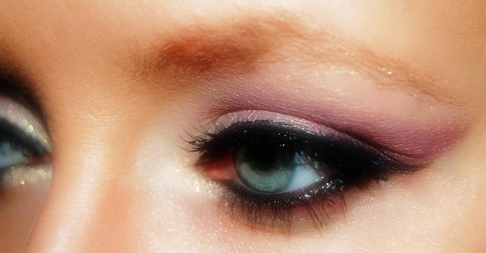Eye, Close, Makeup, Eye Shadow, Make Up, Mascara