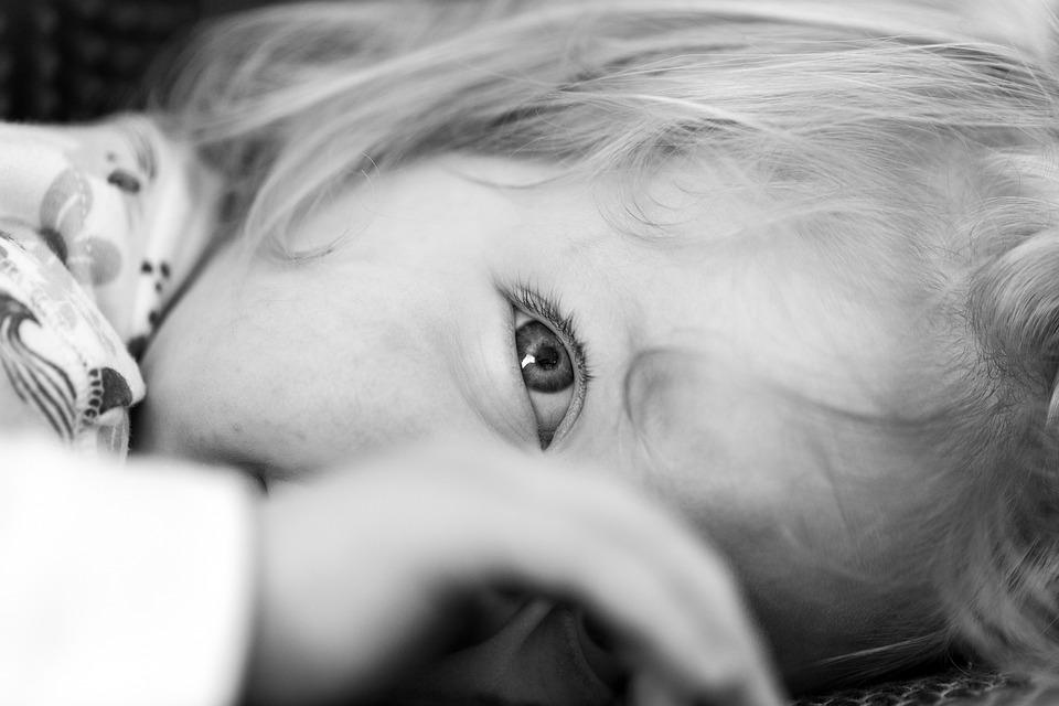 Girl, Eye, Thought, Mentally, Female, Hand, Face