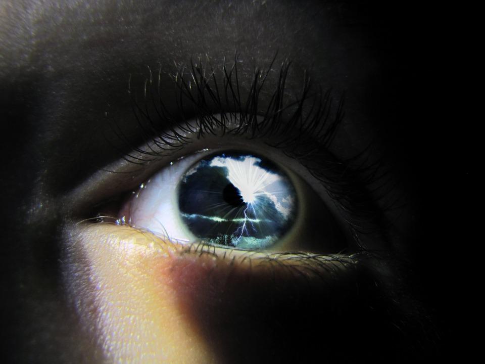 Eye, Macro, Storm, Weather, Eyeball, Black Eye