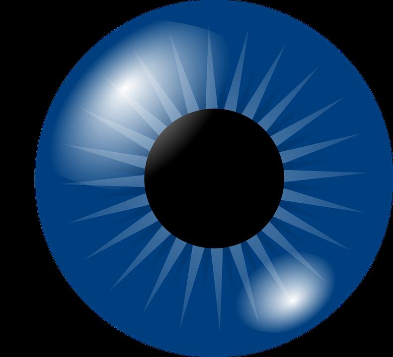 Eyeball, Eye, Iris, Pupil, Blue, Human, Optical