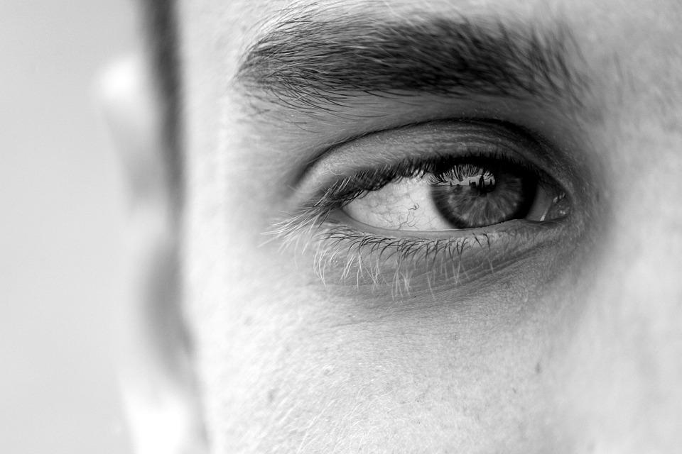 Eye, Guy, Man, Face, Eyelashes